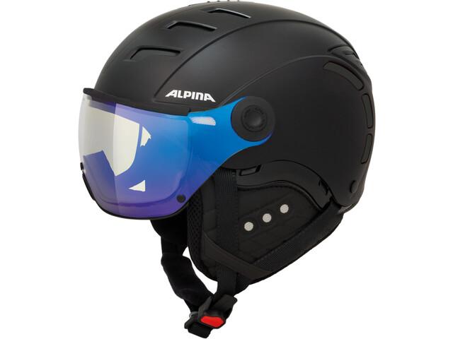 Alpina Jump 2.0 VM Ski Helmet black matt